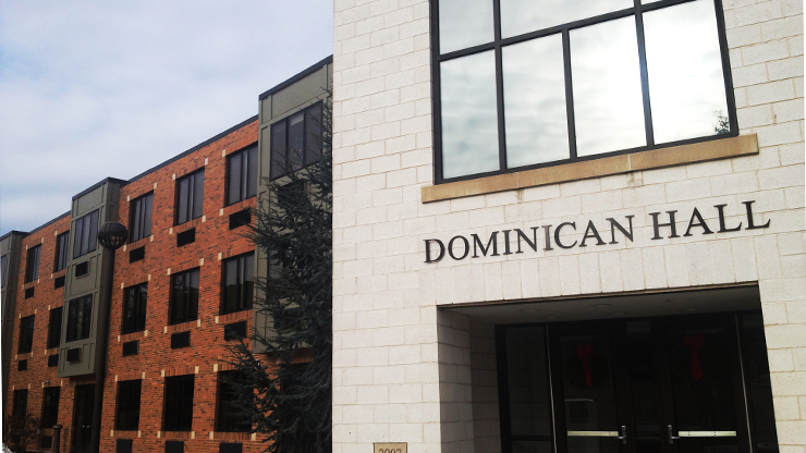 Dominican Hall Outside Image