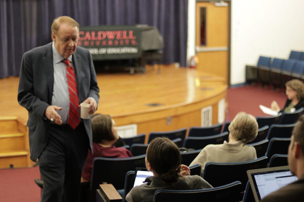 Senator Cody's visit To CU