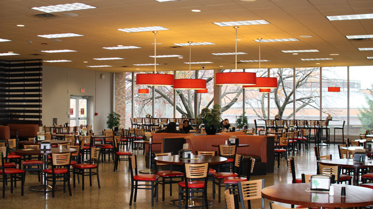 Inside Dining Hall Image