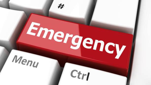 Emergency keyboard picture