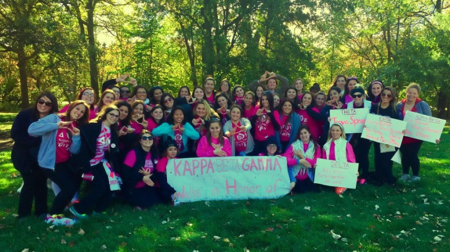 Picture of Kappa Beta Gamma CU members