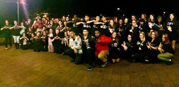 Group Picture of Members of Greek Life Community