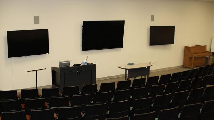 Inside Werner Lecture Hall Image