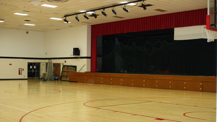 Student Center Gym Hall Image