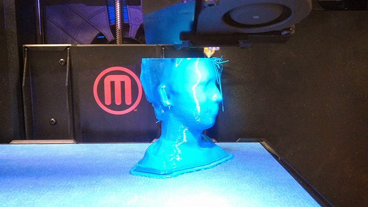 Library 3D Printer Images
