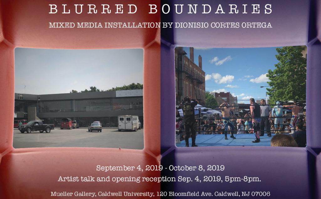 Blurred Boundaries flyer