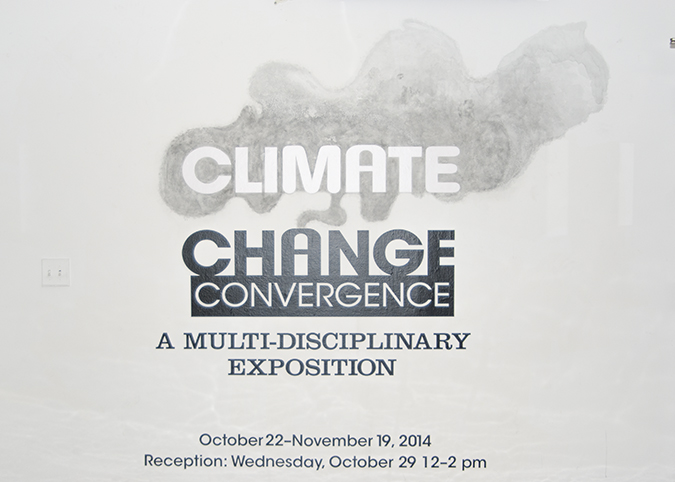 "Flyer for ""Climate Change Convergence: A Multi-Disciplinary Exposition"""