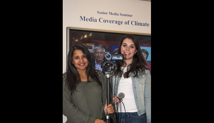 Two Students Addressing Climate Change Convergence