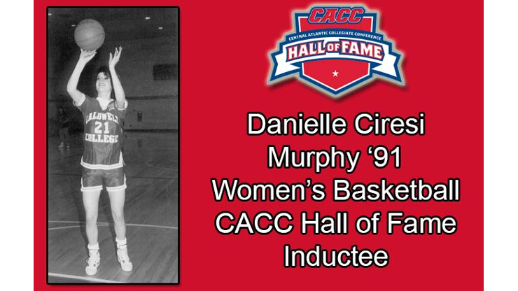 Danielle Ciresi Women's Basketball CACC hall of Fame