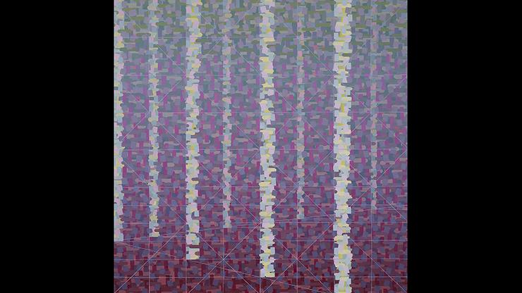 """Rachael Wren, Lost & Found, 2017, oil on canvas, 36"""" x 36"""""""