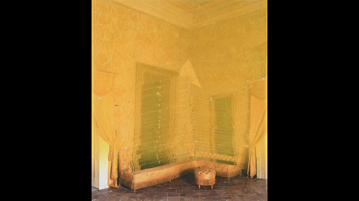 Matthew Conradt, Ingeminate, 2016, photo transfer collage on mylar, 37 x 43 inches