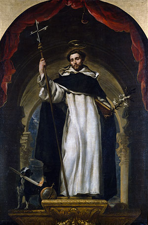 An image of Saint Dominic