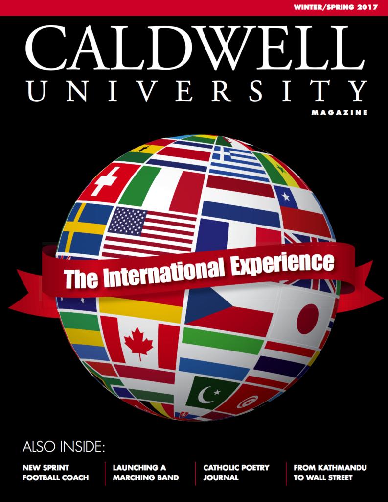 Magazine Caldwell University Winter/Spring 2018