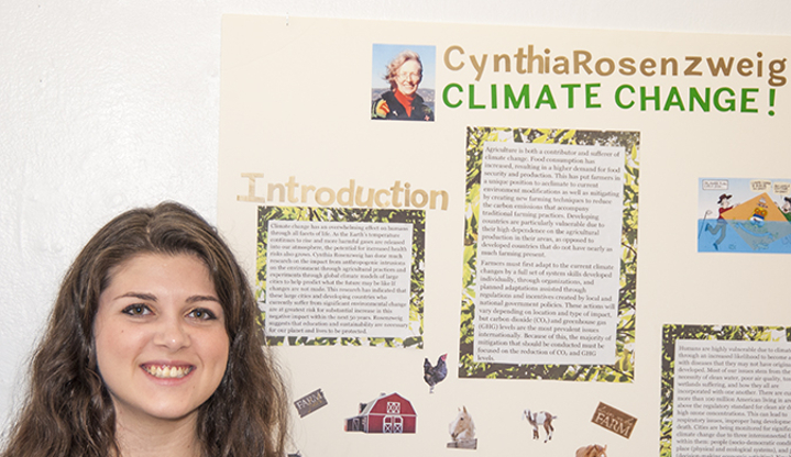 Research Project about Climate Change Presented at Climate Change Convergence