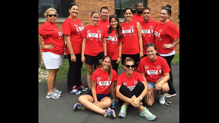 Caldwell University freshmen who moved in on August 2014