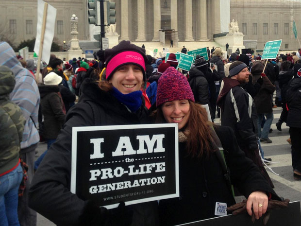 Caldwell University Students and Faculty for the annual March for Life