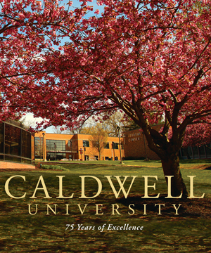 Cover of the Caldwell University 75 years of Excellence
