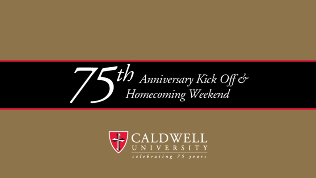 75th Anniversary Kick Off and Homecoming Weekend Flyer