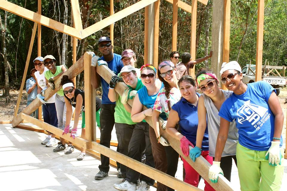 Building a church in Belize