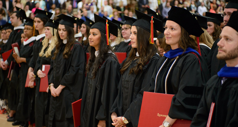 Caldwell College Graduation Ceremony 2014