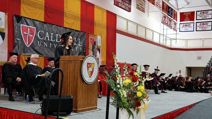 Caldwell Student Commencement Speech