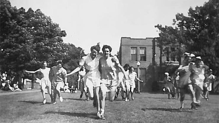 Field Day 1940s