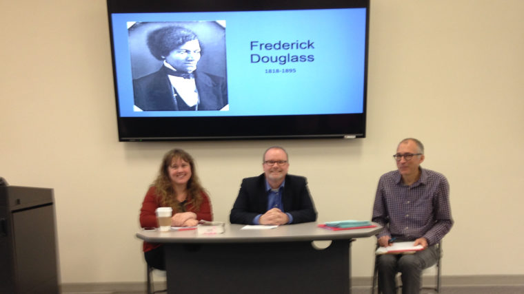 Caldwell Faculty Presenting about Frederick Douglass