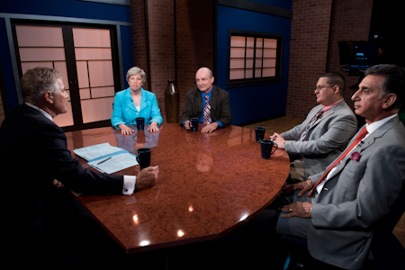 President Nancy Blattner, Ph.D. as a guest on Caucus: New Jersey