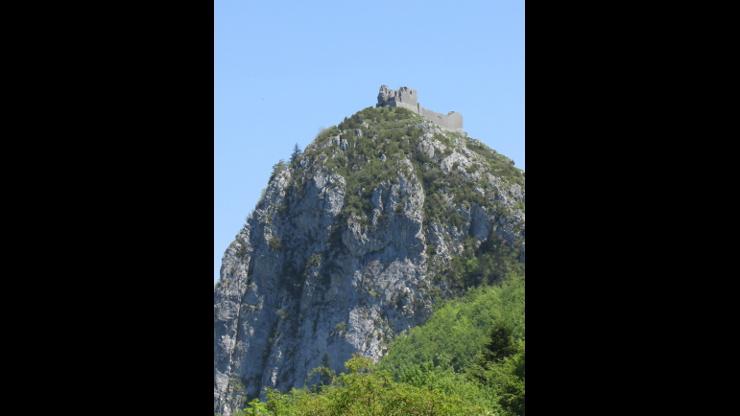 Montsegur Mountain