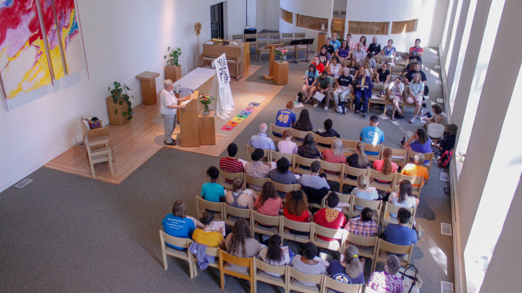 Different participants from all over the United States attending the 16th annual Preaching in Action Conference held from May 22 to 27 at Caldwell University.