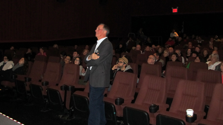 Novelist Meg Rosoff having Video Conference with Cinema Class Students