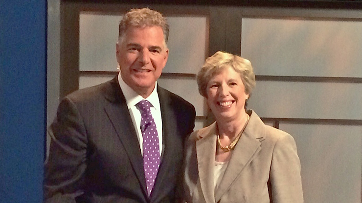 Steve Adubato and Dr. Nancy Blattner