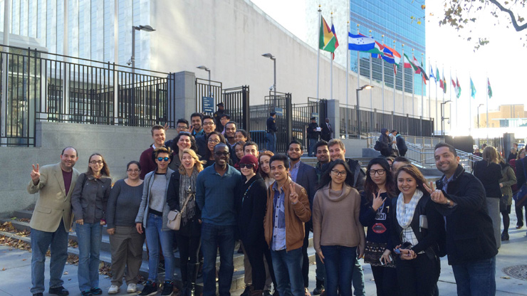 Caldwell University Students Trip to United Nations Headquarters