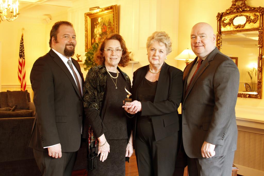 Justin Cece, Rosemary Buczek, Barbara Detrick, and Kevin Boyle