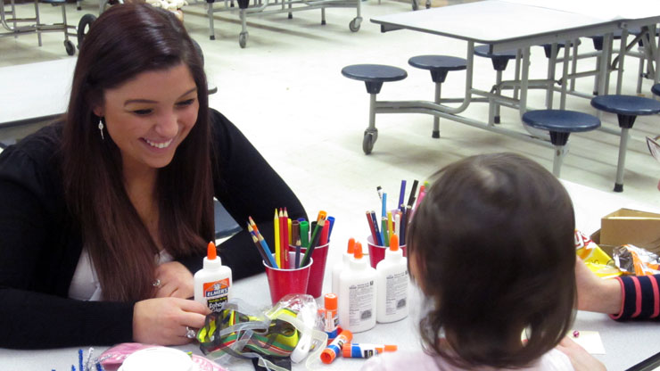 Reaching out to Families Affected by Superstorm Sandy