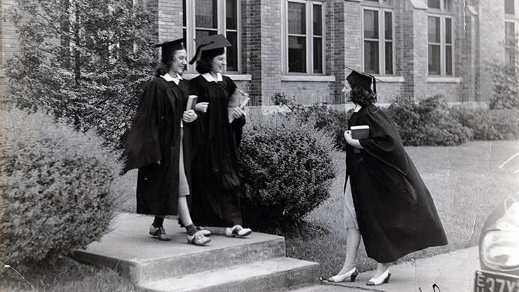 Graduation Ceremony 1960s