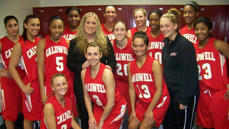 Caldwell University Women Basketball Team