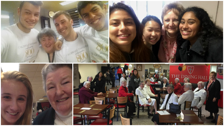 Collage of Celebrations of 800 Years of Dominican Family