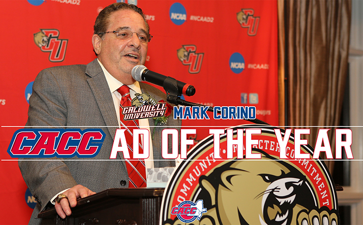 Caldwell University Athletics Director Mark Corino