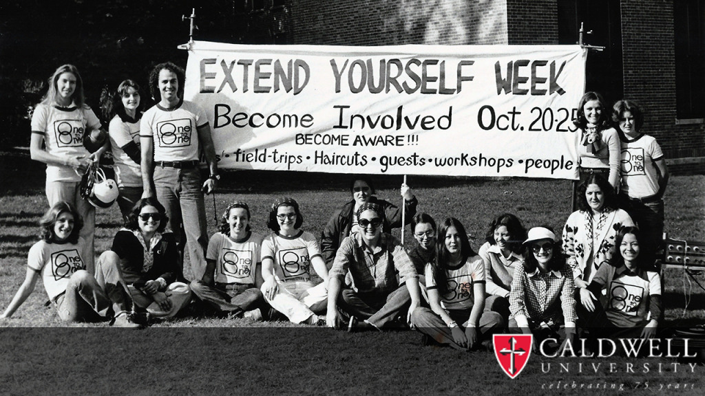 A Funraising Event Organzied by Caldwell Students - 1970s
