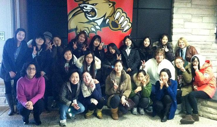 South Korean Students for Teacher Education Program at Caldwell