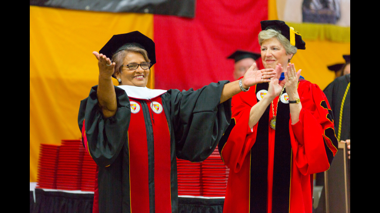 Guests for 75th annual commencement