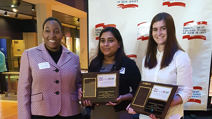Science Students take top prizes at ICFNJ Undergrad Research Symposium