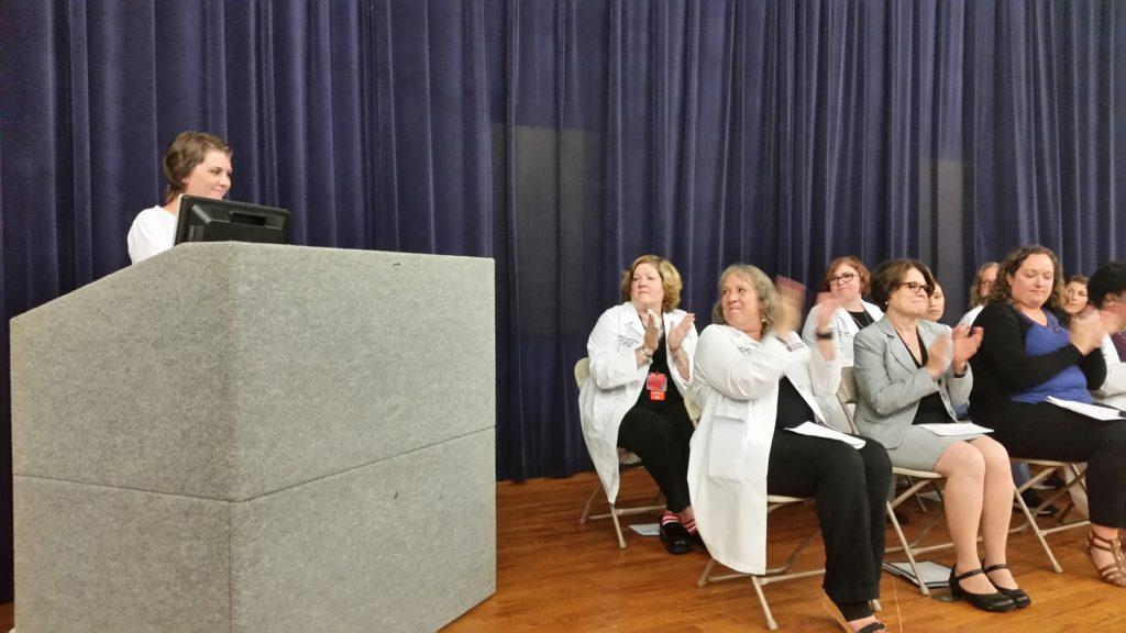 Nursing Staffs at White Coat Ceremony