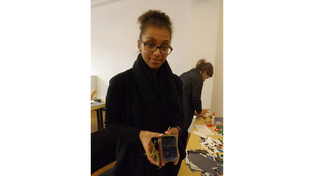 Leanne Waller, an Art therapy student