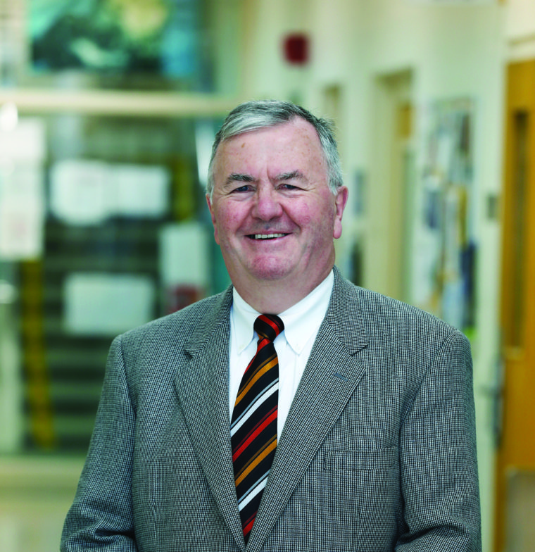 Professor Bernie O'Rourke, Associate Dean and Chairman of the Business Division.