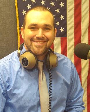 """Communications and Media Studies student Brandon Young is a guest on WNNJ's s """"Vets Rock"""""""