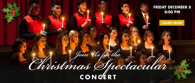 Caldwell University's Annual Christmas Spectacular
