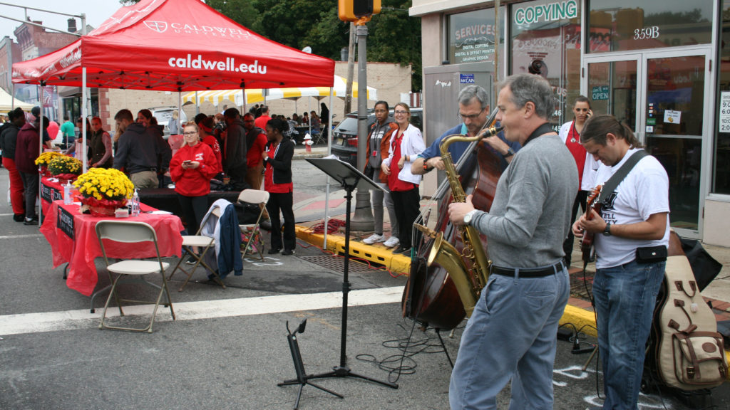 Saxophone Performer at CU street Fair 2016