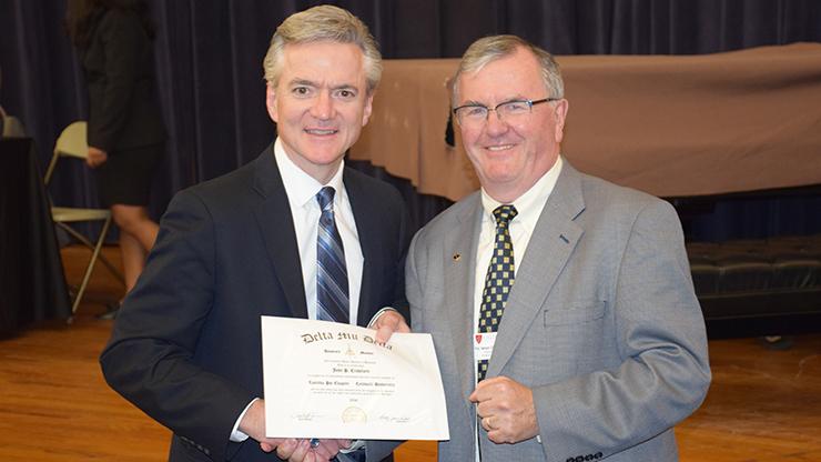 John P. Crawford and Bernie O'Rourke